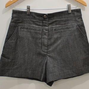 DVF Denim Notrina High Waisted Shorts